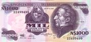 1 000 Nuevos Pesos -  obverse