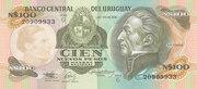 100 Nuevos Pesos – obverse