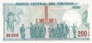 200 Nuevos Pesos – reverse