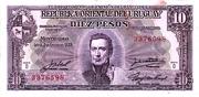 10 Pesos (Law of Jan. 2nd., 1939) – obverse