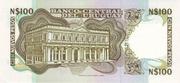 100 Nuevos Pesos – reverse