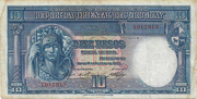 10 Pesos (Law of Aug. 14th., 1935) – obverse
