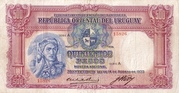 500 Pesos (Law of Aug. 14th., 1935) – obverse