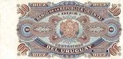 10 Centésimos (Not issued) – reverse