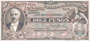 10 Pesos (Specimen only) – obverse
