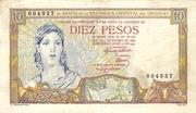 10 Pesos (Constitution Centennial) – obverse