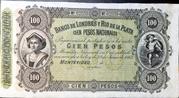 100 Pesos (Banco de Londres y Río de la Plata) – obverse