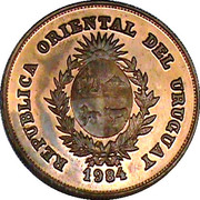 2000 Nuevos Pesos (BID Meeting; Trial strike) -  obverse