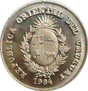 2000 Nuevos Pesos (BID Meeting; Trial strike) -  obverse