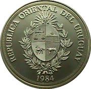 2000 Nuevos Pesos (BID Meeting) -  obverse