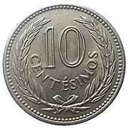 10 Centésimos -  reverse