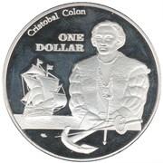 1 Dollar (Saint Croix) – reverse