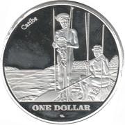 1 Dollar (Saint John) -  reverse