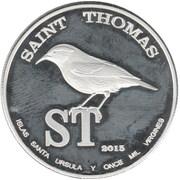1 Dollar (Saint Thomas) – obverse