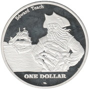 1 Dollar (Saint Thomas) – reverse