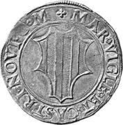 Testone - Johann Franz Trivulzio – reverse