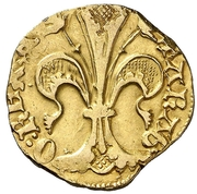 Florin - Alfonso V – reverse