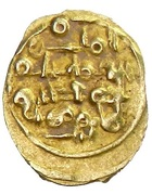 Fractional Dinar - 'Abd al-'Aziz al-Mansur - 1021-1061 AD (Amirid dynasty - 1021-1086) – obverse