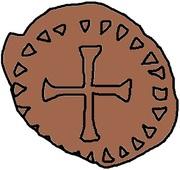 1 Nummus - Godas (Without legend) – reverse