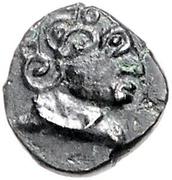 """Quinarius (""""Nauheimer"""" Type) -  obverse"""