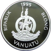 50 Vatu (Birth of Prince William) – obverse
