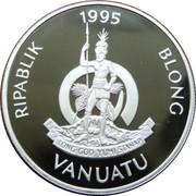 50 Vatu (Birth of Prince William) – obverse