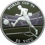 50 Vatu (World Cup Football) – reverse
