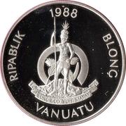 50 Vatu (XXIV Summer Olympics) – obverse