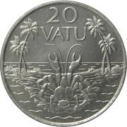 20 Vatu – reverse