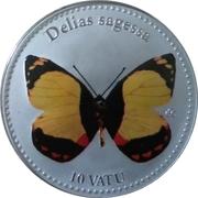 10 Vatu (Delias Sagessa) – reverse