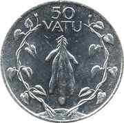 50 Vatu – reverse