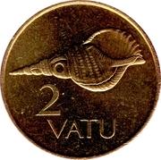2 Vatu – reverse