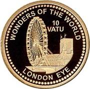 10 Vatu (London Eye) – reverse