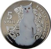 5 Vatu (Turkish Angora) – reverse