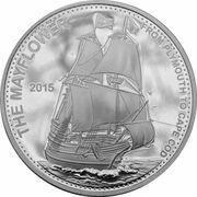 20 Vatu (Mayflower) – reverse