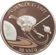 50 Vatu (Voyager 1) – reverse