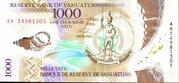 1000 Vatu – obverse