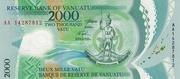 2000 Vatu -  obverse