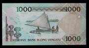 1000 Vatu – reverse
