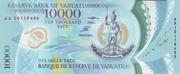 10,000 Vatu – obverse