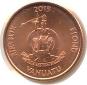 5 Vatu (small type) – obverse
