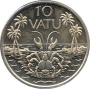 10 Vatu – reverse