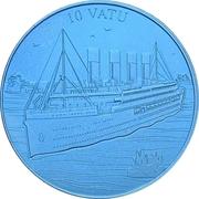 10 Vatu (Titanic) – reverse