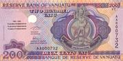 200 Vatu – obverse