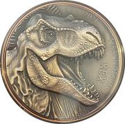 10 Vatu (Tyrannosaurus Rex) – reverse