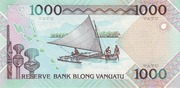 1 000 Vatu – reverse