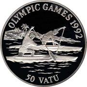 50 Vatu (Canoe) – reverse