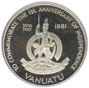 50 Vatu (Independence) – obverse