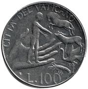 100 Lire - Ioannes Pavlvs II -  reverse