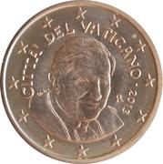 5 Euro Cent - Benedictus XVI -  obverse